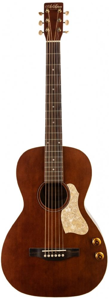 Art & Lutherie Roadhouse Havana Brown Parlour Q Discreet Guitar